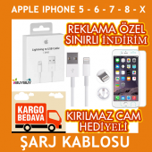 Apple İphone Şarj Kablosu İphone Şarj Kablosu 5 5s 6 6s 7 8 X