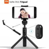 Xiaomi Bluetooth Tripod + Selfie Çubuğu Kumandalı...