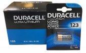 Duracell Ultra Lityum 123 Pil (10 Adet)