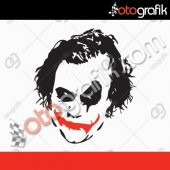 Otografik Joker Oto Sticker
