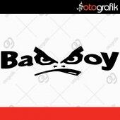 Otografik Bad Boy Oto Stıcker