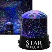 Star Master Projeksiyon Yatak Odası Gece Lambası Renkli Led Işık