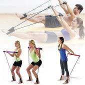 Pilates Portable Dvdli Jimnastik Plates Spor Egzersiz Aleti