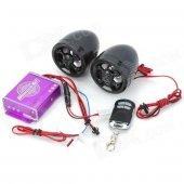 Tex Go500 Motosiklet Müzik Sistemi Alarm Radyo Usb Mp3 Çalar