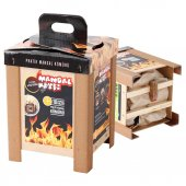 Kamp Piknik Mangal Kömürü 2200 Gr Çitalı Kağıtlı Pratik Ateşleme