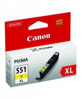 Canon Clı 551xl Y Mürekkep K. 6446b001
