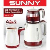 Sunny Lateafe Duo Elektrikli Çaycı Ve Elektrikli Kahve Cezvesi