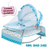 Happy Baby Class Desenli Anadizi(Mavi Beyaz)