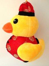 22cm Şişman Aşçı Ördek Şişko Peluş Oyuncak Kaliteli Sağlıklı