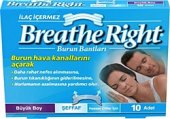 Breathe Right Şeffaf Büyük Boy 10 Lu Burun Bandı Original Ürün