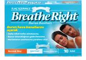 Breathe Right Şeffaf Normal Boy 10 Lu Burun Bandı Original Ürün