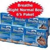 6 Kutu Breathe Right Normal Boy 10 Lu Burun Bandı Original Ürün