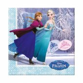 Frozen İce Skating Kağıt Peçete 33x33 Cm 20 Adetli