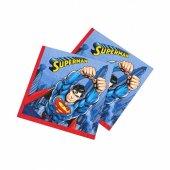 Superman Kağıt Peçete 33x33 Cm 16 Adetli
