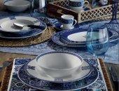 Kütahya Porselen 9429 Desen 24 Parça Etnik Yemek Takımı