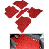 Ford Connect 2002 2013 Kırmızı Lüx Halı Paspas Seti
