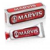 Marvis Cinnamon Mint 25 Ml Tarçın Ve Naneli Diş Macunu