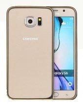 Totudesing Samsung Galaxy S6 Alüminyum Çerçeve Black Gold