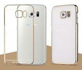 Totudesing Samsung Galaxy S6 Metalik Gold Kılıf
