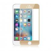 Melefoni Gold İnce İphone 6 6s Ekran Koruyucu 3d Cam