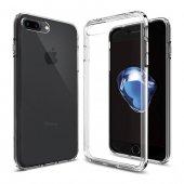Iphone 7 Plus Sararmaz Şeffaf Sert Kılıf