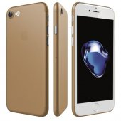 Iphone 8 Ultra İnce Gold Kılıf