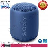 Sony Srs Xb10 Kablosuz Nfc Extra Bass Bluetooth Hoparlör