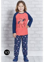 Roly Poly 1150 Kız Çocuk Pijama Takımı 5 8 Yaş