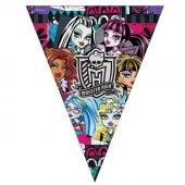 Beysüs Monster High Klasik Üçgen Bayrak Set