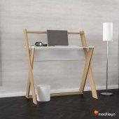 Modilayn Ard 310 X Çalışma Masası Beyaz Cordoba