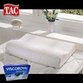 Taç Viscoroyal Elastik Ortopedik Visco Yastık 40x60
