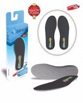 Sanus 100 Mdl Siyah Memory Foam Hafızalı Ayakkabı İç Tabanı