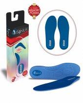 Sanus A100 Mavi Memory Foam Hafızalı Ayakkabı İç Tabanı