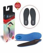 Sanus A100 Siyah Memory Foam Hafızalı Ayakkabı İç Tabanı