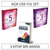 Açık Lise Musay Ful Set (3 Kitap)