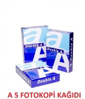 Double A A5 Fotokopi Kağıdı Orjinal Ürün 2500 Yaprak
