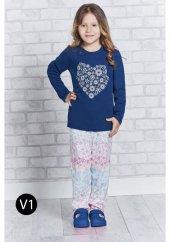 Roly Poly 1152 Kız Çocuk Pijama Takımı 1 4 Yaş