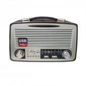 Kemai Md 1802bt Bluetooth Usb Sd Fm Nostaljik Görünümlü Radyo