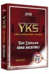Tercih Akademi 2018 Yks Tyt Tüm Dersler Konu Anlatımlı Tek Kitap Tercih Akademi Yayınları
