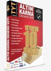 Altın Karma Yks Tyt 10 Farklı Yayın 10 Deneme Altın Karma Yayınları