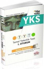 Editör Yks 1. Oturum Tyt Türkçe Matematik Konu Anlatımlı Tek K
