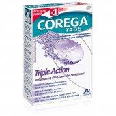 Corega 3 Etkili Diş Protezi Temizleyici 30 Tablet