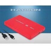 2.5 İnç Hard Disk Kutusu Usb 2.0 Sata Kırmızı Renk