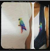 Broş Papağan