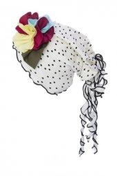 Nbabygiz Çiçek Aksesuarlı Şapka