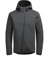 Jack Jones Jtaasymmetrıc Sweat Zıp Hood Erkek Sweat