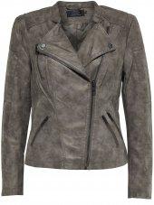 Only Ava Faux Leather Bıker Otw Noos Kadın Jacket