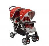 Crystal Baby 234 Armoni İkiz Bebek Arabası(Hediyeli)