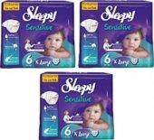Sleepy Bebek Bezi Jumbo Pk 3lü Set No 6 16+kg 84 Adet Extra Larg