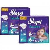 Sleepy Bebek Bezi 2lı Set No 6 15 25kg 56 Adet